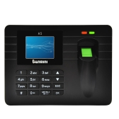 "2.4"" TFT LCD Display Biometric Fingerprint Attendance Machine DC 5V/1A Time Clock Recorder Employee Checking-in Reader A5"