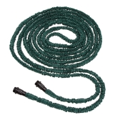 75FT Anself Expandable Ultralight Garden Hose Fittings Set Flexible Water Pipe + Faucet Connector + Fast Connector + Valve + Multi-functional Spray Nozzle Dark Green