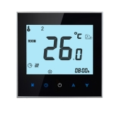 16A 110-230V Weekly Programmable LCD Display Touch Screen Electric Heating Thermostat Room Temperature Controller