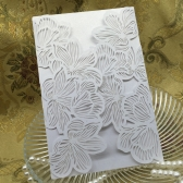10Pcs Romantic Wedding Party Invitation Card Envelope Delicate Carved Pattern