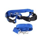 Pet Dog Nylon Adjustable Training Lead Dogs Harness Walking / Running Traction Belt Leash Strap Rope S