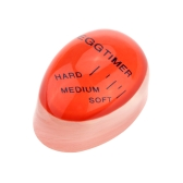 Portable Color Changing Mini Egg Timer with Soft Medium Hard Boiled Calibration Practical Kitchen Supplies