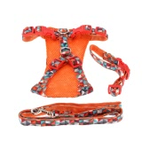 L Dog Necklace Pet Clothes Puppy Traction Suit Cat Pussy Harness Leash Pulling Rope Pets Collar Supplies