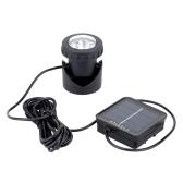Anself 6pcs LED Solar Power Light Outdoor Landscape Lighting Solar Energy Spotlight Waterproof Diving Light Excellent Lighting Components