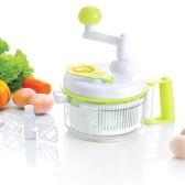 Anself Multi-functional Manual Food Vegetable Chopper Salad Maker Slicer for Fruit Onion Garlic Coleslaw