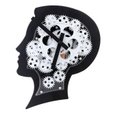 Super Brain Gear Clock Motion Brain Wall Clock Nice Gift for Friends or Famliy