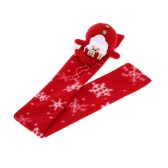 Children Kids Christmas Scarf Unisex Boy Girl Xmas Muffler Christmas Cloth Accessory