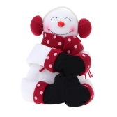 Hold a Towel Hold the Bottle Santa Claus Snowman Originality Chirstmas Decoration Awesome Gift for Christmas
