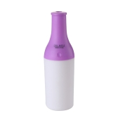 USB Portable Mini Cool Cocktail Bottle Humidifier DC 5V Office Air Diffuser Mist Maker with LED Nightlight
