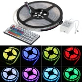 Waterproof 5050 5M 300 SMD RGB LED Strip Light + Remote Controller