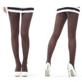 80D Velvet Pantyhose Brown
