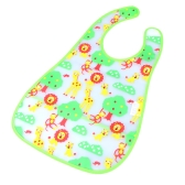 Cute Forest Baby Bib Infant Saliva Towel Waterproof Unisex with Pouch
