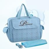 Large Capacity Baby Diaper Nappy Shoulder Bag Mummy Handbag with Changing Pad Liner