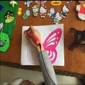 KKmoon Smart 3D Printing Drawing Modeling Pen OLED Screen PLA Printer Filament Art Tool Educational Toy EU Plug