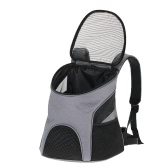 Portable Oxford Fabric Cat Dog Carrier Backpack Breathable Mesh Pet Outdoor Travel Backpack Bag