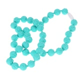 Food Grade Silicone Teething Nursing Necklace Chewable Beads Baby Toy Teether Jewelry BPA Free
