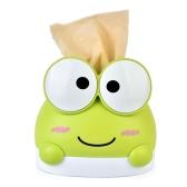 Original Genuine RB280 Lovely Frog Cartoon Home Plastic Tissue Paper Holder Cover Desktop Napkin Box