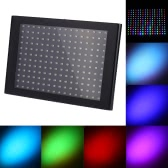35W 192 LEDs Stage RGB Effect Light Flat Panel Light Flash Strobe DMX512/ Sound Activated/ Auto Run/ Master-slave for Party Disco DJ KTV