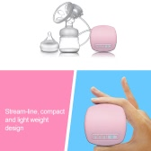 Health BPA-Free Single Electric Breast Pump Practical Comfortable Breast Reliever with Bottle and Nipple Portable Simple Milk Pump with USB Cable