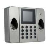 """2.4"""" TFT LCD Display Single Fingerprint Attendance Machine DC 5V/1A Time Clock Recorder Employee Check-in Reader"""