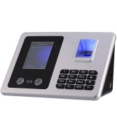 "2.8"" TFT Fingerprint + Face Recognition Attendance Machine Time Clock Recorder Employee Checking-in Reader USB Support"