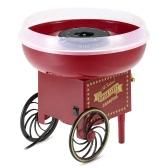 Homgeek Mini Retro automático de algodón de azúcar Máquina de bricolaje del hogar de lujo del fabricante del caramelo de algodón de azúcar Máquina de hilo dental para los niños