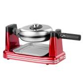 Nostalgia 50s Retro Style Household Electric Waffle Maker Non-Stick Flip Rotating Waffle Baker Oven Machine 220-240V