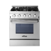 "THOR KITCHEN HRG3080U High-end Stylish 30"" 4 Burners 4.2 Cu. Ft Good Quality Stainless Steel Free Standing Gas Range Professional Kitchen Cooker"