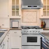 "THOR KITCHEN HRH3001U 30"" Stainless Steel Under Cabinet Range Hood 900 CFM Kitchen Ventilator High Quality Baffle Filter"