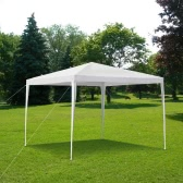 iKayaa 3M*3M Waterproof Outdoor Canopy Garden Gazebo Party Wedding Camping Tent Marquee Pavilion