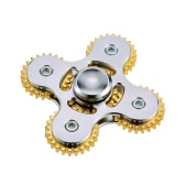360 Anti-Anxiety Durable Spinner Wheel Gears Fidget Metallic Finger Toy for Adults and Kids to Relieve Stress