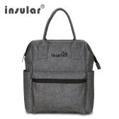 Insular Multifunctional Mommy Bag Excellent Water Resistance Nappy Bag Backpack Durable Shoulders Bag Baby Diaper Bag for Mom Baby Shower Gift