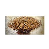 "24""*48"" Hand Painted Oil Painting Unframed Canvas Floral Wall Picture Wall Decoration Painting Beautiful Room Decoration 60*120cm Painting Home Decoration Housewarming Gift"