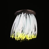 Artificial Silicone Sea Anemone with Glowing Effect for Fish Tank Aquarium Ornament Decoration
