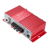 Kinter MA-180 Mini Car HiFi Digital Audio Stereo Power Amplifier Amp 2 Channels Output with USB Charging Port