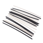 Guitar Bass Side Dot Fretboard Fingerboard Position Marker Music Instrument Inlay Dots 102 * 2mm 10pcs White & 10pcs Black