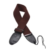 Guitar Shoulder Strap Wide Polyester-Cotton Belt
