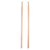 Pair of 5B Drumsticks Sticks Wave-shape Wood Tip Percussion Accessories for Drum Set Adopt for Black Walnut Wood