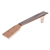 23 Inch Concert Ukelele Maple Wood Neck & Rosewood Fretboard Fingerboard Set Hawaiian Guitar Parts