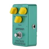 ammoon AP-01 Vintage Overdrive Guitar Effect Pedal True Bypass