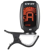 SWIFF A8 Super Mini Clip-On LCD Automatic Digital Tone Tuner
