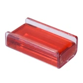 High-Class Transparent Red Rosin Colophony Low Dust Handmade Super Adhesion with Wooden Box Universal for Violin Viola Cello Erhu Bowed String Musical Instruments