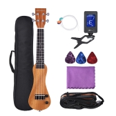 "ammoon 21"" Solid Wood Electric Ukulele"