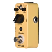MOOER Acoustikar Acoustic Guitar Simulator Effect Pedal True Bypass with 3 Modes (Piezo/Standard/Jumbo)