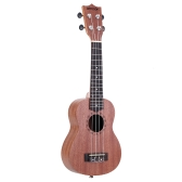 "ammoon 21"" Acoustic Ukulele Sapele 15 Fret 4 Strings Stringed Musical Instrument"