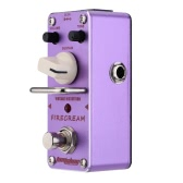 AROMA AFM-3 Firecream Vintage Distortion Electric Guitar Effect Pedal Mini Single Effect with True Bypass