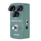 ammoon AP-07 Analog Delay Electric Guitar Effect Pedal True Bypass