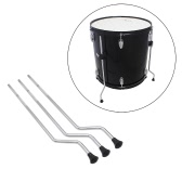 3pcs Floor Tom Leg Feet 10mm Drum Set Accessory Iron Plated