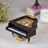 "Mechanical Wind-up Piano Musical Music Box Classical Melody ""For Alice"" Birthday Festival Gift for Children Girls"