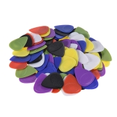 100pcs Guitar Picks Celluloid Picks Color Mixed with Storage Box for Acoustic Folk Classic Electric Guitars Bass 30pcs 0.46mm / 30pcs 0.55mm / 40pcs 0.6mm